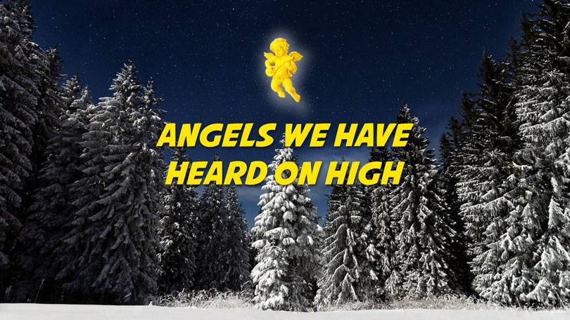 Angels We Have Heard on High - Free Christmas Music