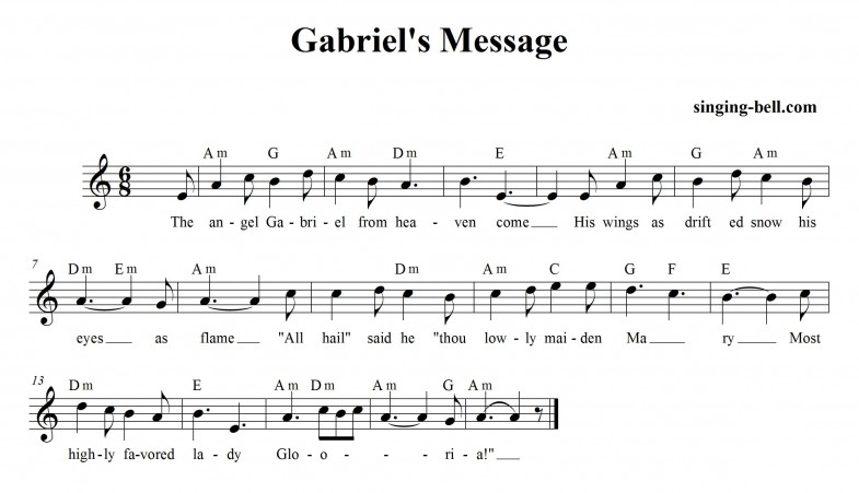Gabriels Message_singing-bell