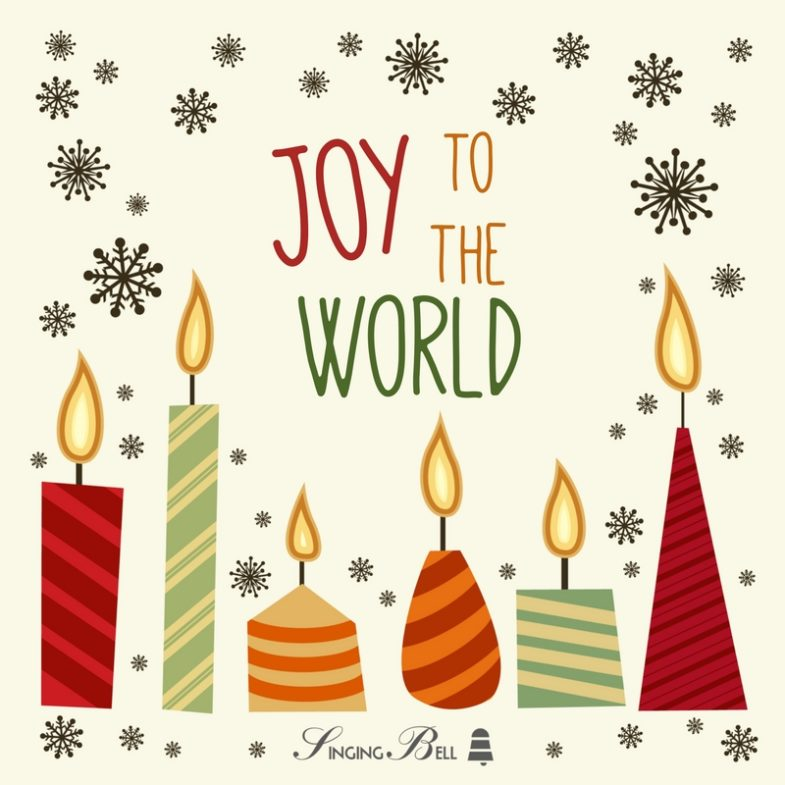 Sheet Music And Lyrics To Joy To The World: Free Christmas Carols Audio Download