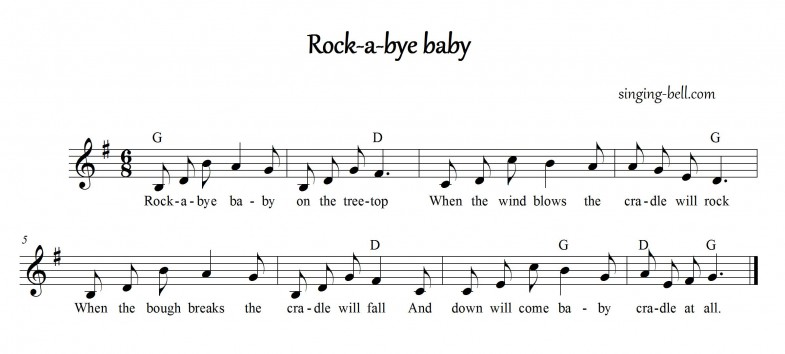 Rock-a-bye Baby_singing-bell