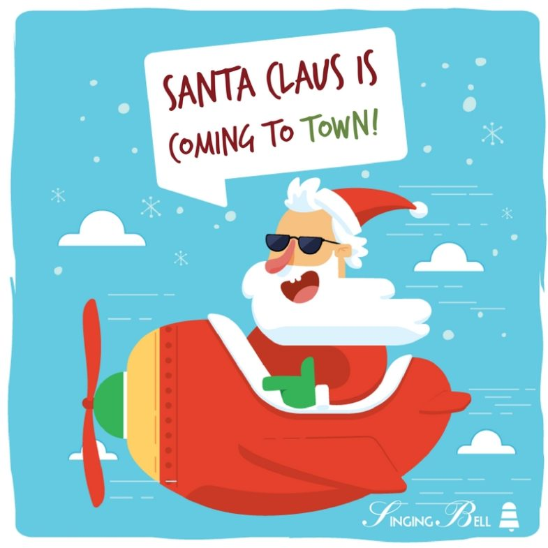 Santa Claus is coming to town | Free Christmas Carols & Songs