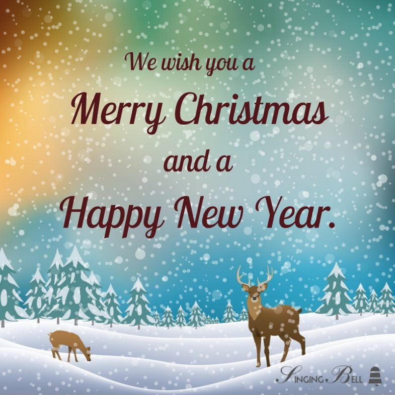 New Year Music Quotes: We Wish You A Merry Christmas