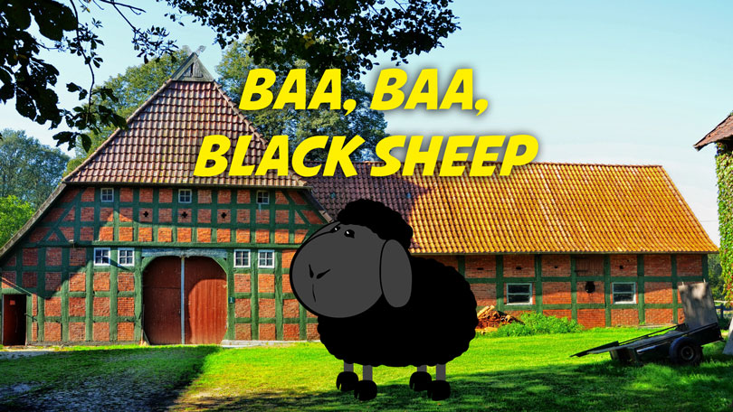Baa Baa Black Sheep | Free Karaoke mp3 download