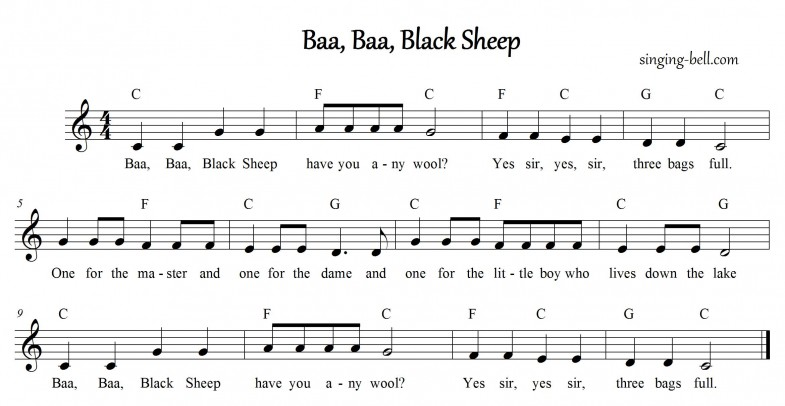 Baa Baa Black Sheep_C_singing-bell