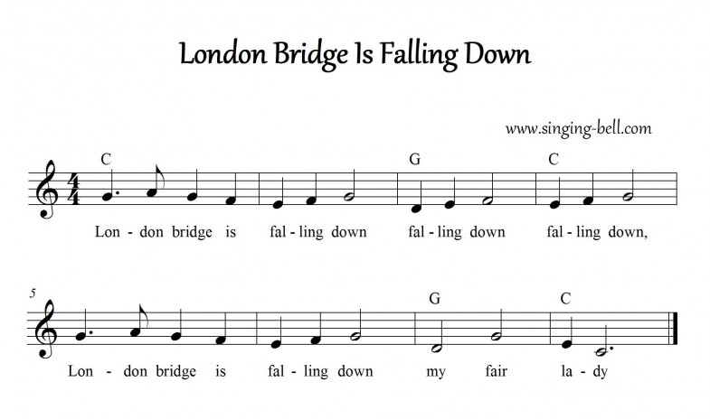 London Bridge Is Falling Down_singing-bell