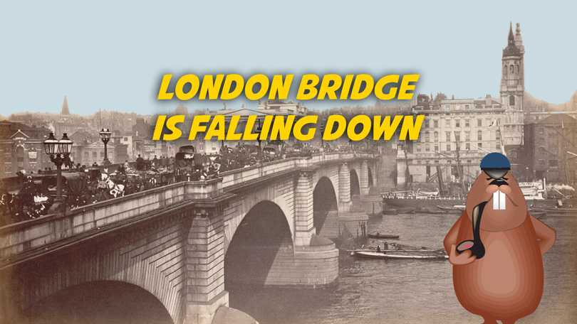 London Bridge is falling down | Free karaoke mp3 download.