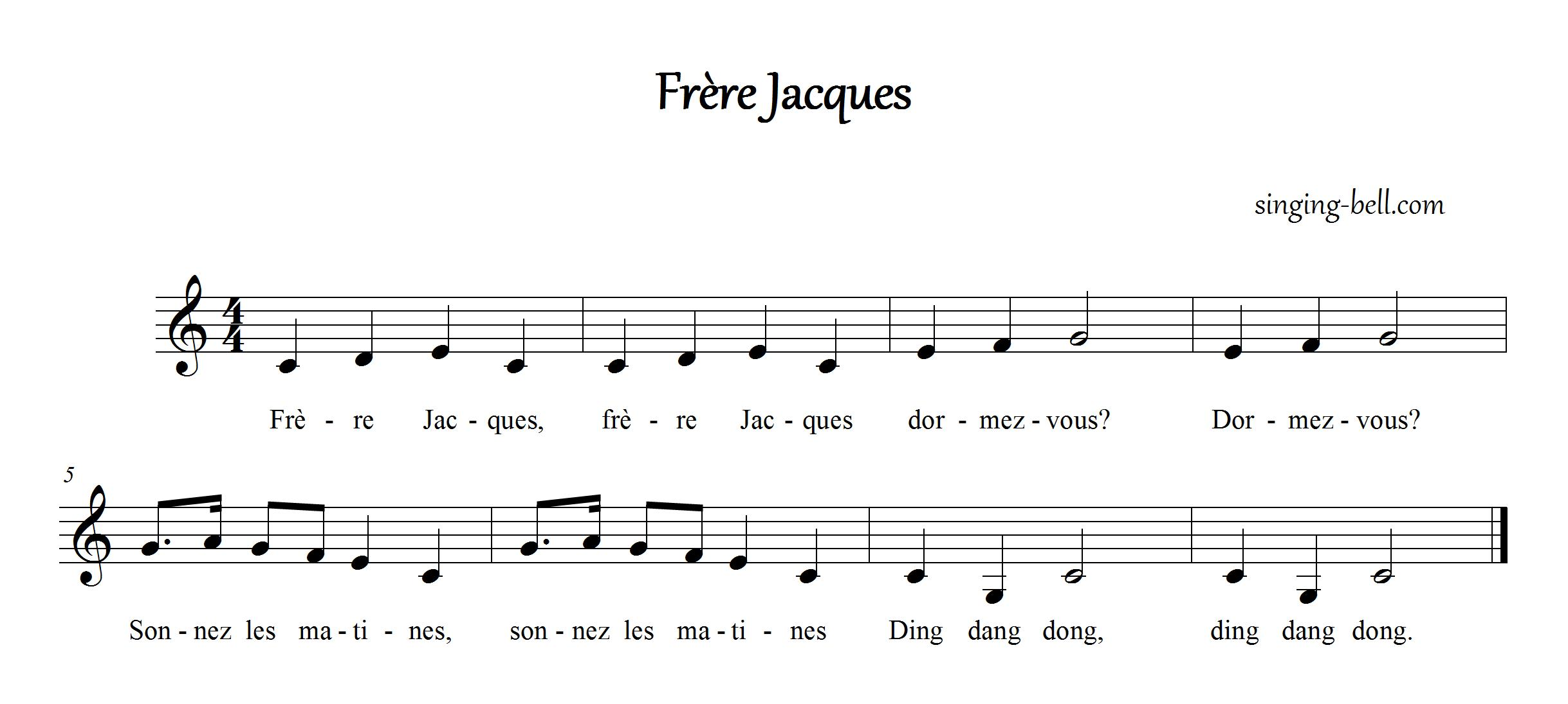 Free Nursery Rhymes Gt Fr 232 Re Jacques Free Mp3 Audio Download