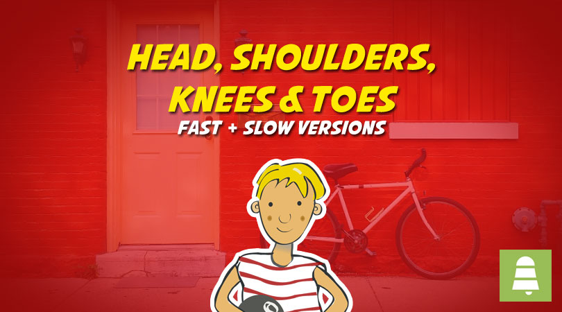 Head, Shoulders, Knees & Toes | Free Karaoke Nursery Rhymes mp3 Download
