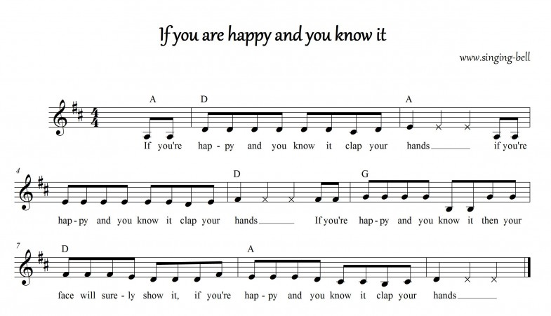 If you are happy and you know it_D_singing-bell