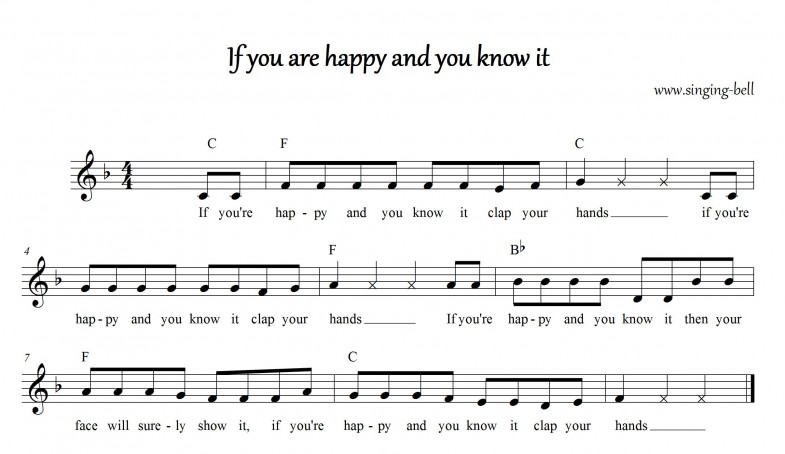 If you are happy and you know it_F_singing-bell