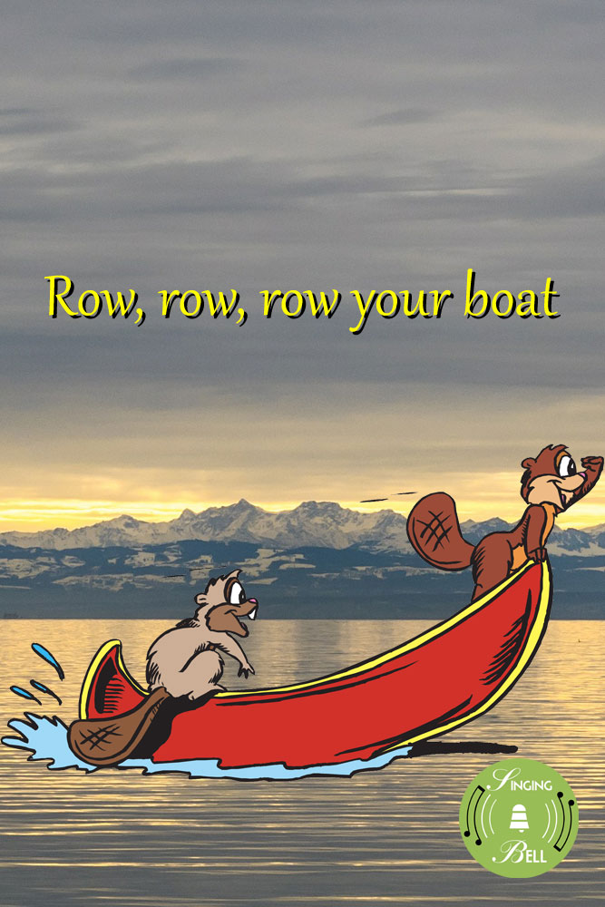 Row, Row, Row your Boat | Free Karaoke Nursery Rhymes