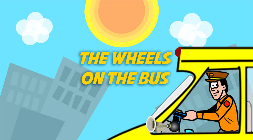 The Wheels on the bus | Free Karaoke Download