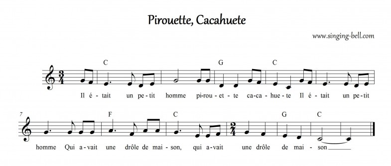Pirouette Cacahuete Singing-Bell