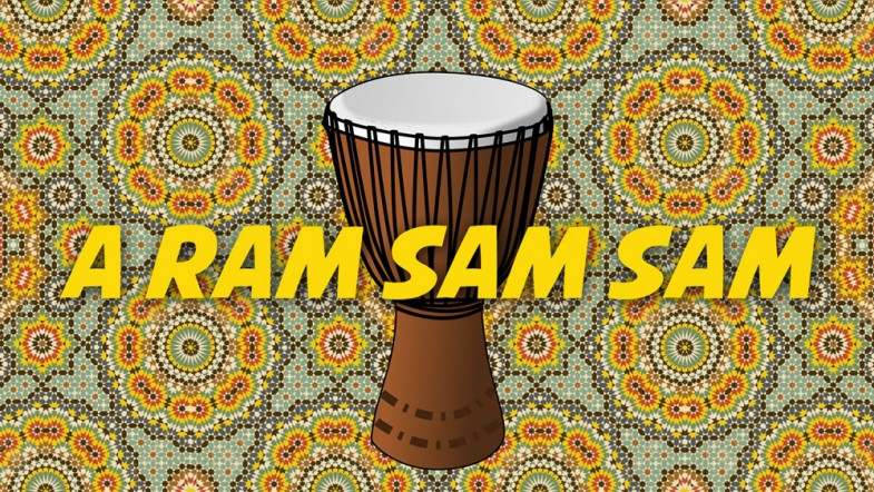 A Ram Sam Sam Free Nursery Rhymes