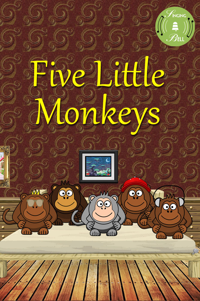 Five-Little-Monkeys-Singing
