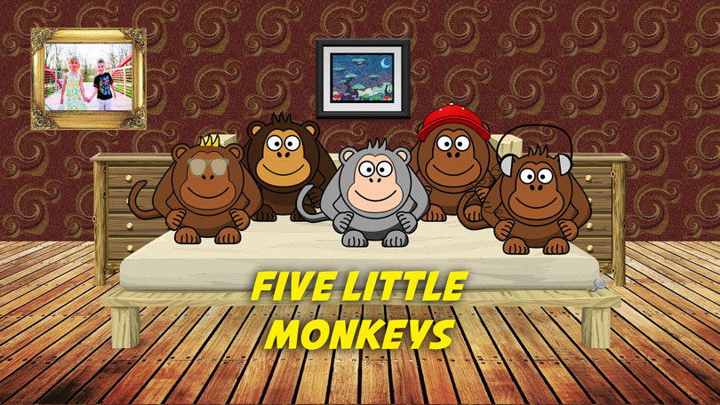 Five Little Monkeys | Free Karaoke mp3 download