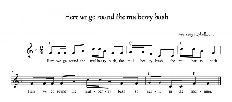 Here we go round the mulberry bush_Singing Bell