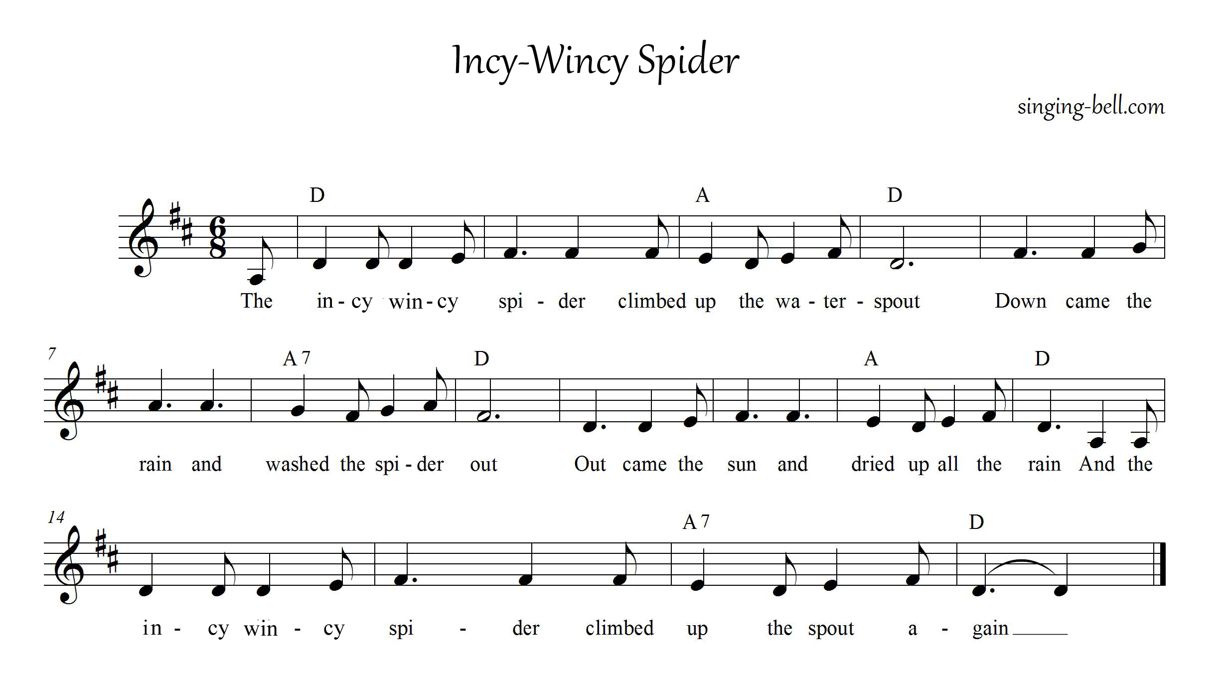 Incy-Wincy-Spider_singing-bell