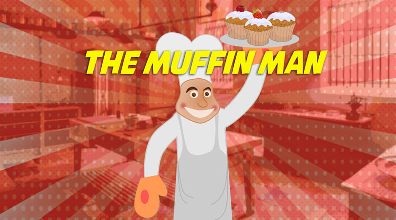 The Muffin Man | Free Karaoke Nursery Rhymes