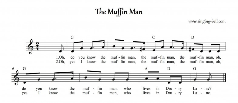 The Muffin Man_Singing Bell