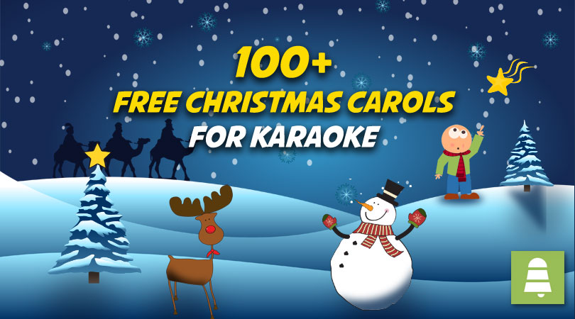 Christmas Carols for Karaoke [Free mp3 Download]