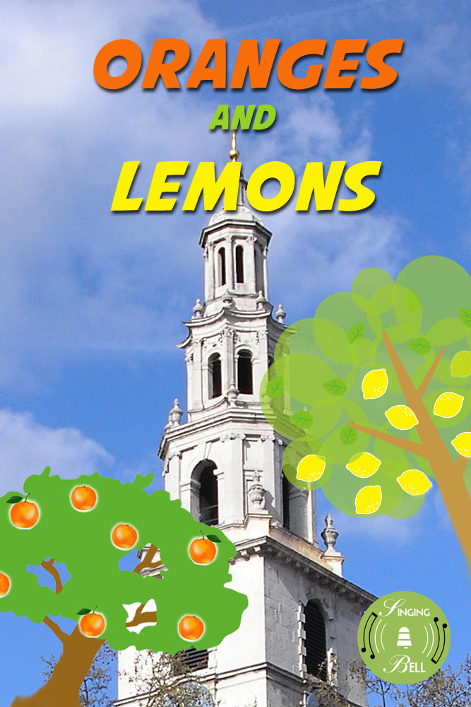 Oranges and Lemons | Free Karaoke Nursery Rhymes