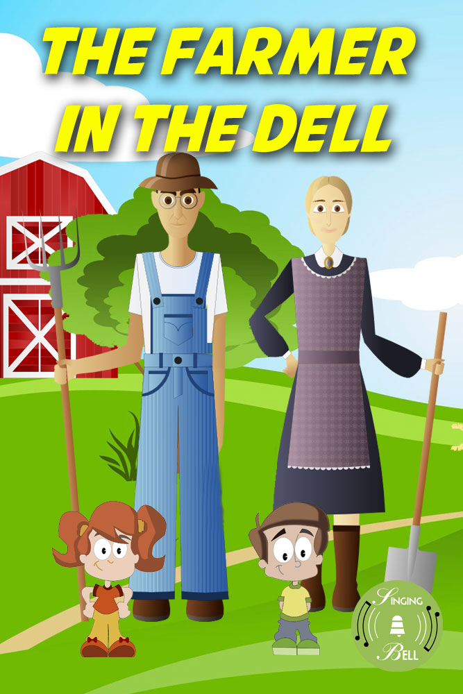 The Farmer in the Dell | Free Karaoke Nursery Rhymes
