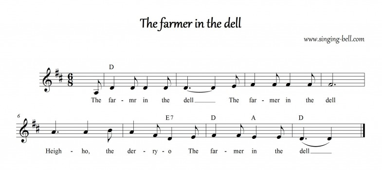 The farmer in the dell_Singing Bell