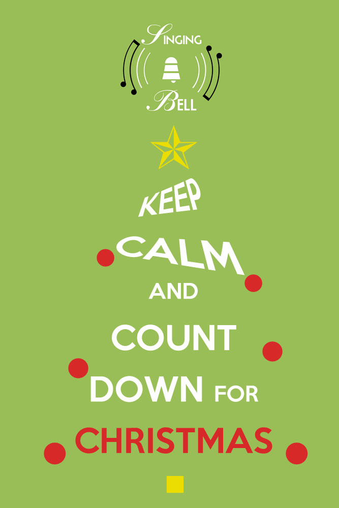 Keep Calm and Count Down for Christmas | Free Christmas Carols