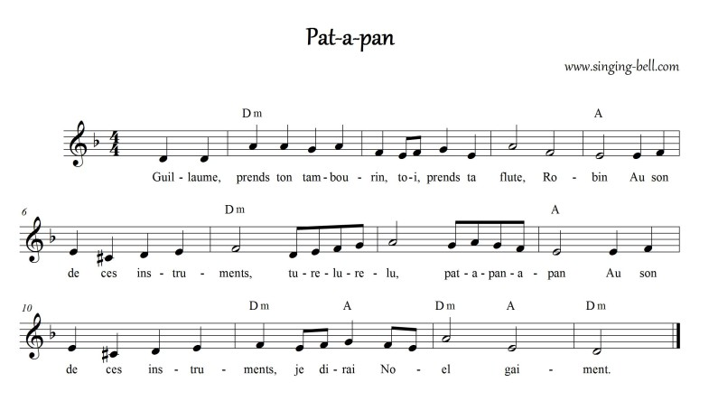 Pat-a-pan_Singing Bell