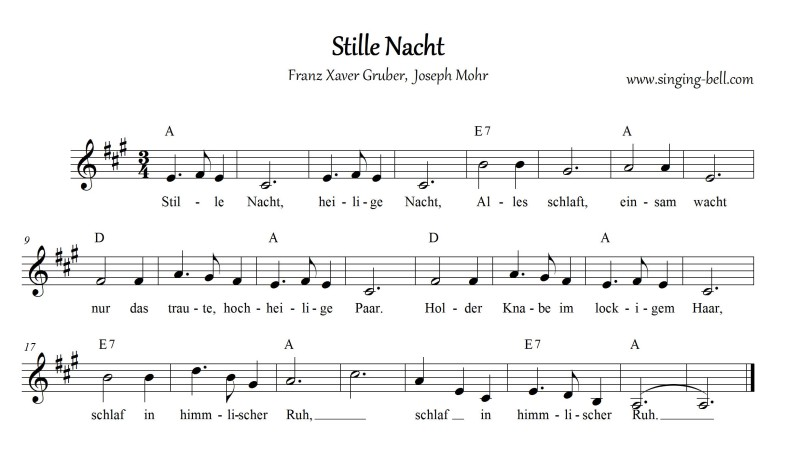 Stille Nacht_A_Singing Bell