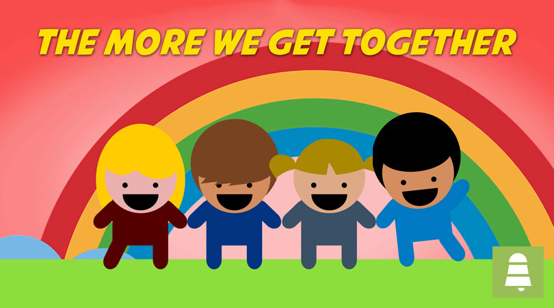 The more we get together   Free Children's Songs