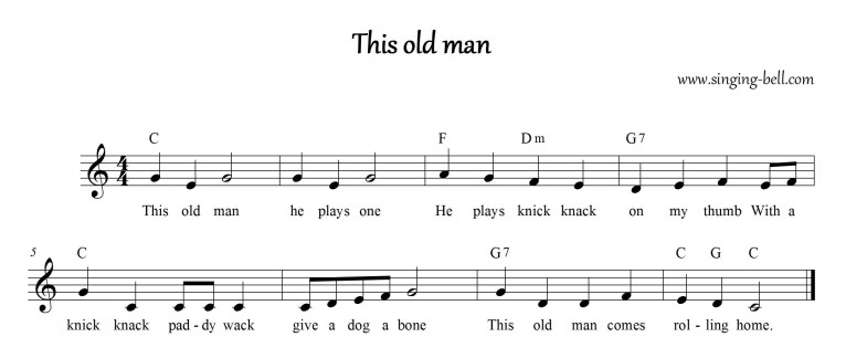 This old man_Singing Bell
