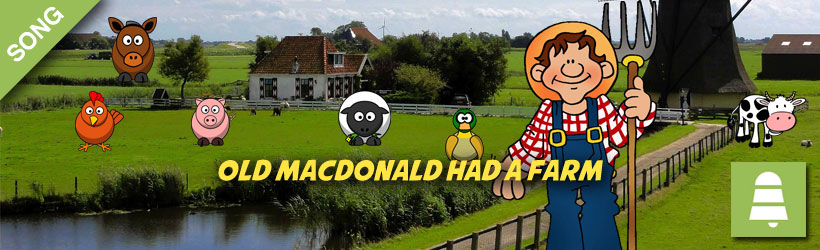 Old MacDonald Had a farm song download