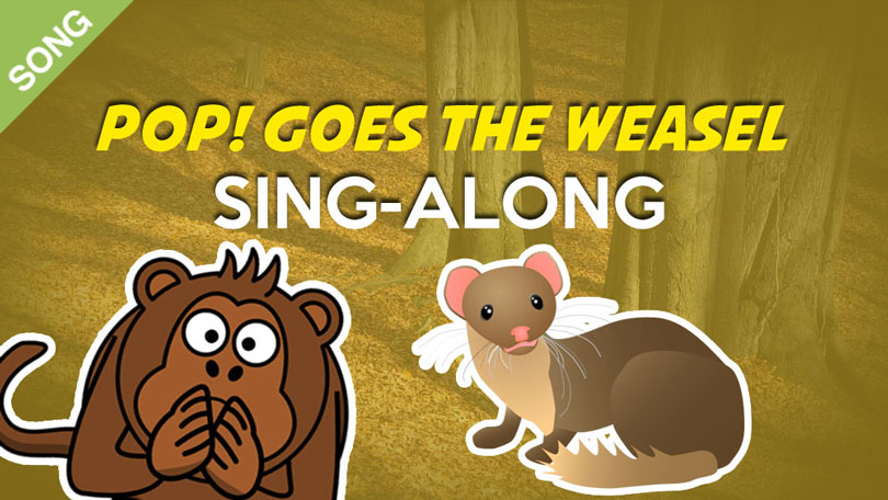Pop Goes the weasel Nursery Rhyme Download