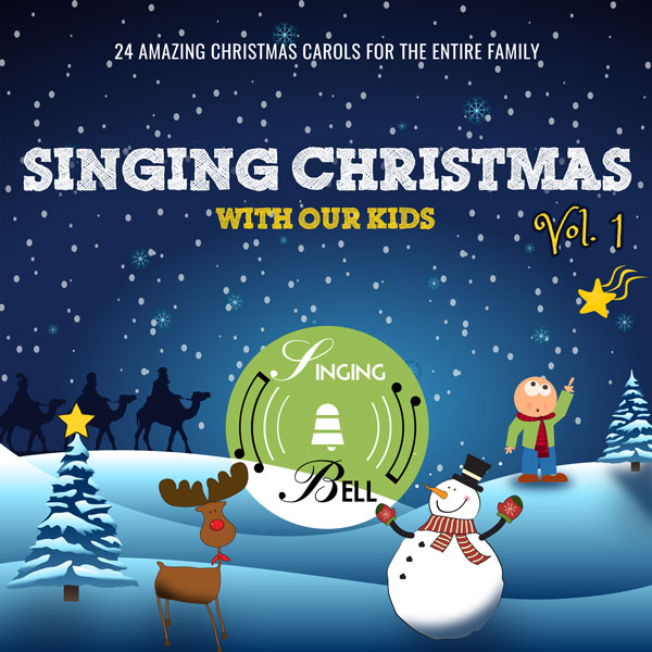 Singing Christmas with Our Kids Volume 1 Cover