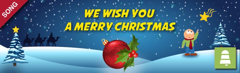we wish you a merry christmas song - Merry Christmas Song