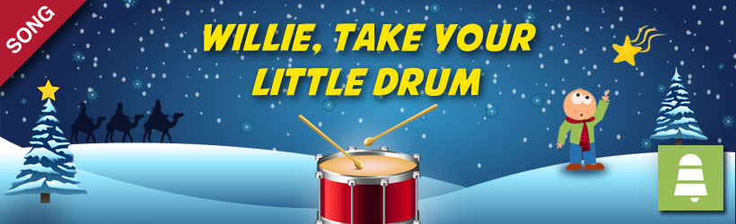 Willie, Take your Little Drum (Pat-a-pan) | Christmas Carols and Songs