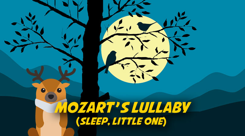 Mozart's Lullaby (Sleep, Little One) | Free Nursery Rhymes karaoke mp3 download