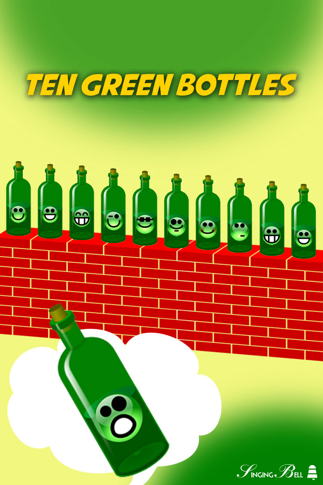 Ten Green Bottles | Free Nursery Rhymes