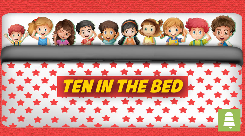 Ten in the Bed | Free Nursery Rhymes