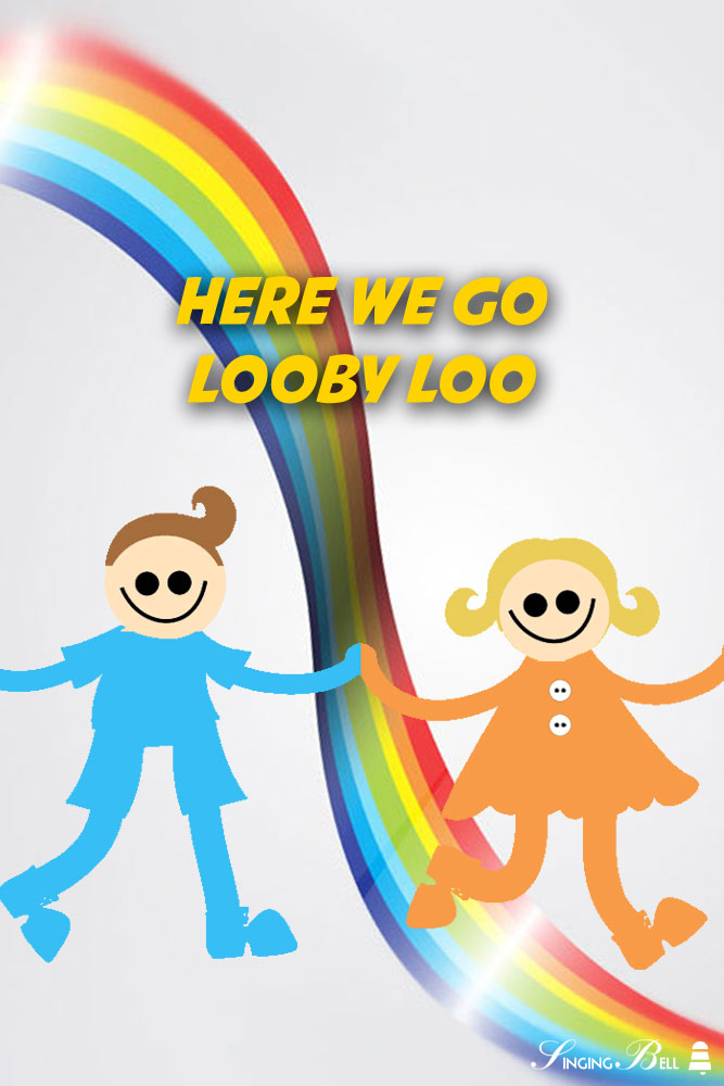 Here We Go Looby Loo | Free Nursery Rhymes