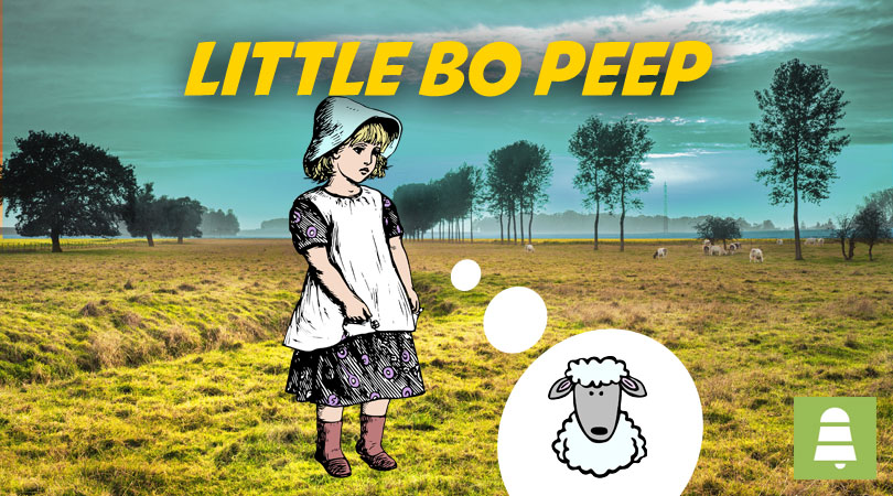 Little Bo Peep | Free Nursery Rhymes