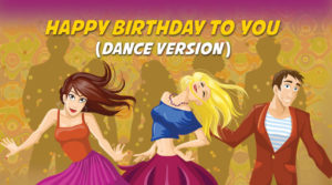 Happy Birthday to You | Turbo Dance Version Karaoke