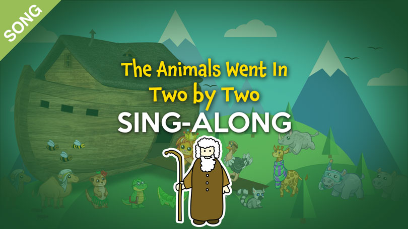 The Animals Went in Two by Two |  Free Nursery Rhymes