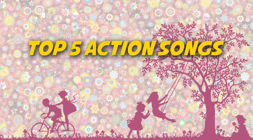 Top 5 Action Songs | Free Nursery Rhymes