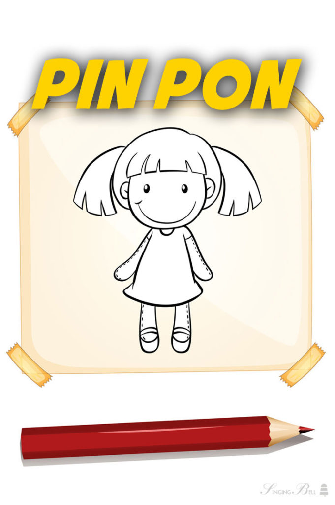 Pin Pon | Free Karaoke Nursery Rhymes