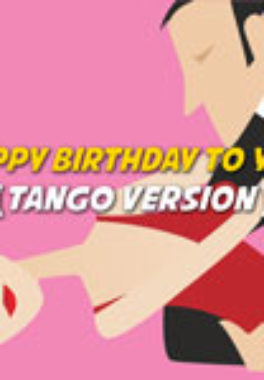 Happy Birthday to You | Tango Version Karaoke