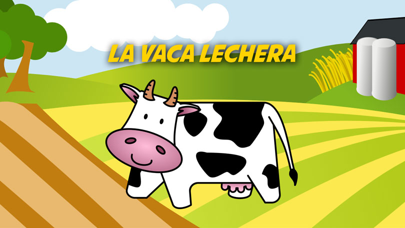 La Vaca Lechera | Free Karaoke Children's Songs