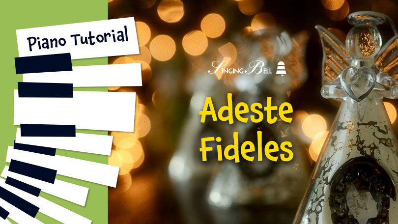 How to play Adeste Fideles on the Piano.